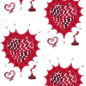 hearts and kisses 8