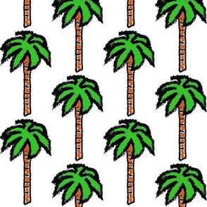 Isle of Cubism Palm Trees