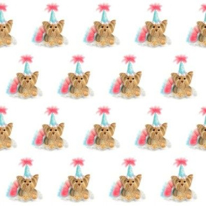 Birthday Yorkie Small Print