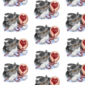 Grey_Kitten_is_playing_with_a_Valentine_Balloon_-_Spoonflower