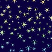 Seven-point Rainbow Stars 2