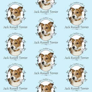 Life's Better Jack Russell Terrier