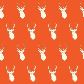 Smarty Pants Deer Small, Orange/Gray