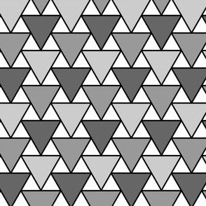 triangle 2:1 thin outline x3