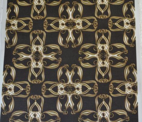 Gold Cross Ribbons