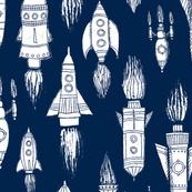 Rockets on Navy