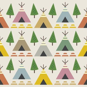 Teepees and Trees