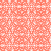 obtuse isosceles triangles - coral