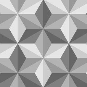 obtuse isosceles triangles 3 - greyscale