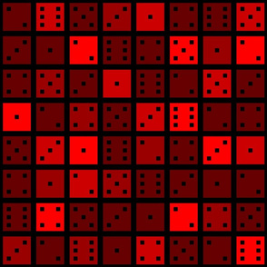 Red Pixel Dice