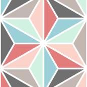 trendy triangle stars