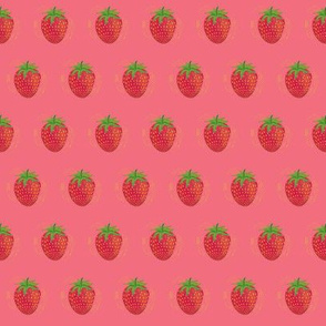 Fruit Salad - Small Strawberries