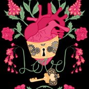 Anatomical Steampunk Love