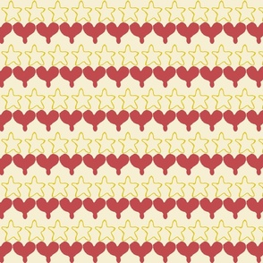 heart of a star stripe
