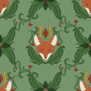 Majestic Fox Damask