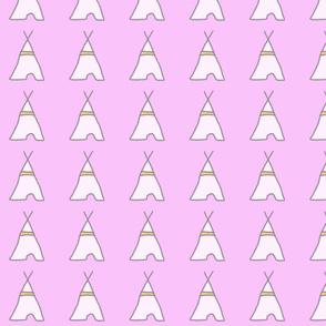 teepee pink