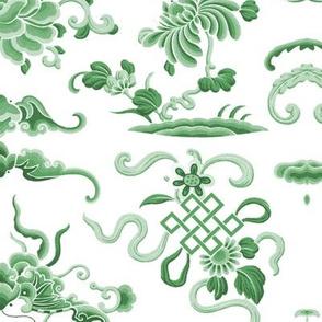 Lotus Island ~ Jade