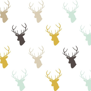 Mint Gold Deer