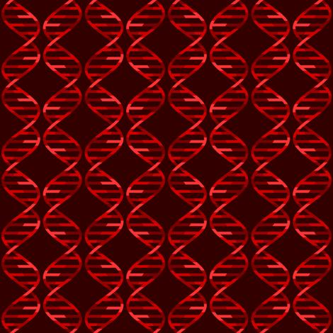 dna helix diamond checks : blood red