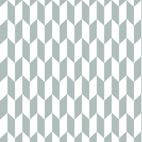 Chevron Darts Grey