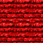 Australia skyline red