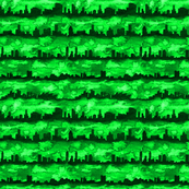 Australia skyline green