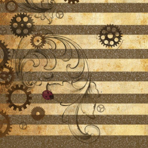 Clockwork ladybird Border single