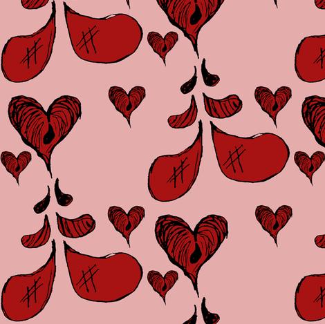 Love Falls Bleeding