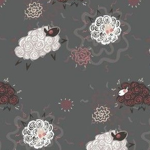 Ditsy Sheepies