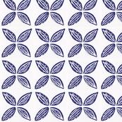 Four Points Blue Flower-ed
