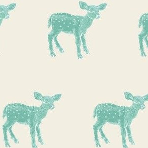 Dear Deer, Spearmint on Cream