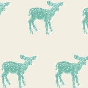 Dear Deer, Spearmint on Cream