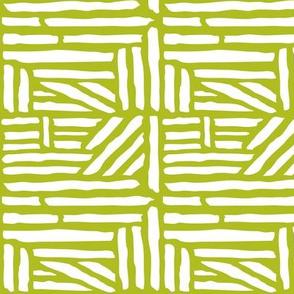 Driftwood Geometric Green