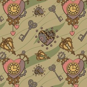 Clockwork Heart - Tan