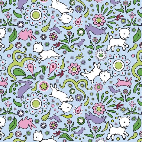 Spring Sheep Ditsy
