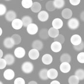 silver lights bokeh dots