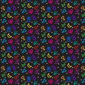 Rainbow Planetary Symbols