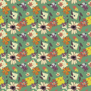 Flower_and_Squares_Green