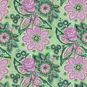 Traditional Spanish floral in alternate colors