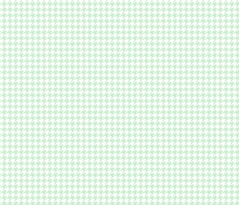 The Houndstooth Check ~ Viennese Mint ~ Small