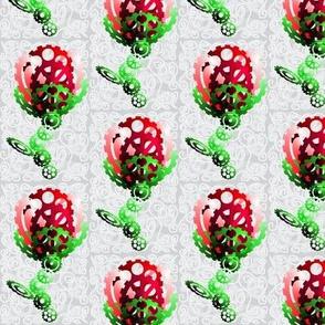 3D Cog Rose