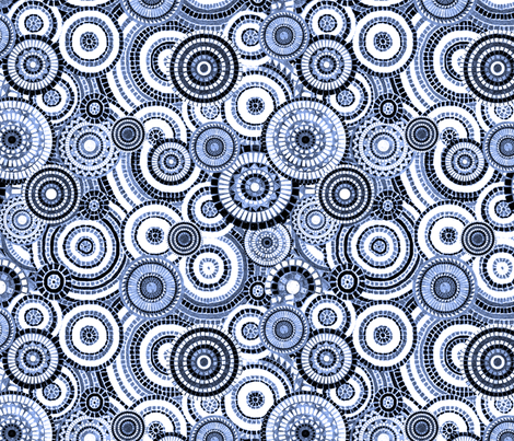 Mosaica Denim Blue