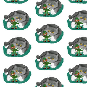 Leprechaun_between_Kitten_Paws_-_Spoonflower