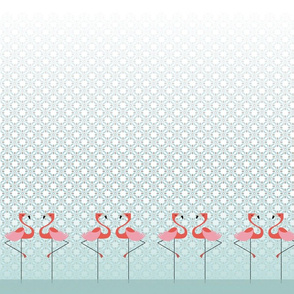 Fancy Flamingos