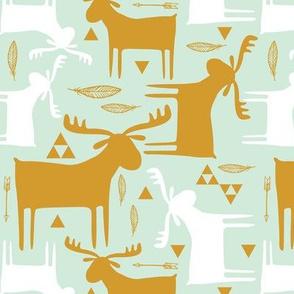 moose gold mint
