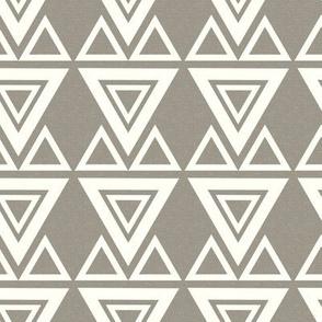 Aztec Triangles Textured