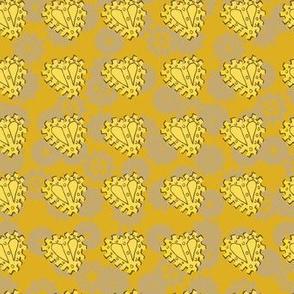 Steampunk Gold Heart