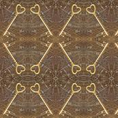 Steampunk Heart Keys-Blythe Ayne