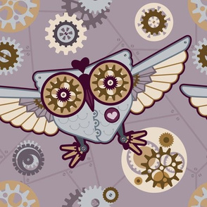 Owl Always Love Steampunk