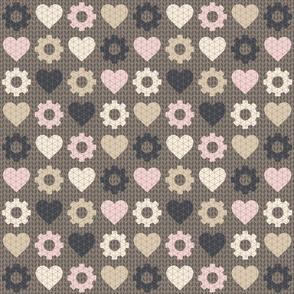 minimalist steampunk valentine